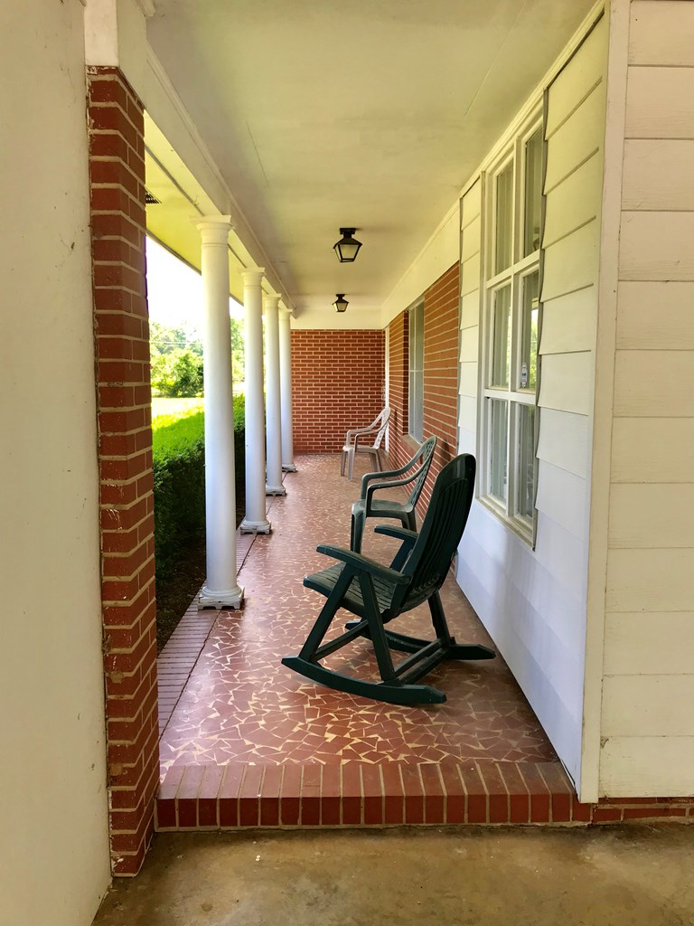 Relaxing front porch